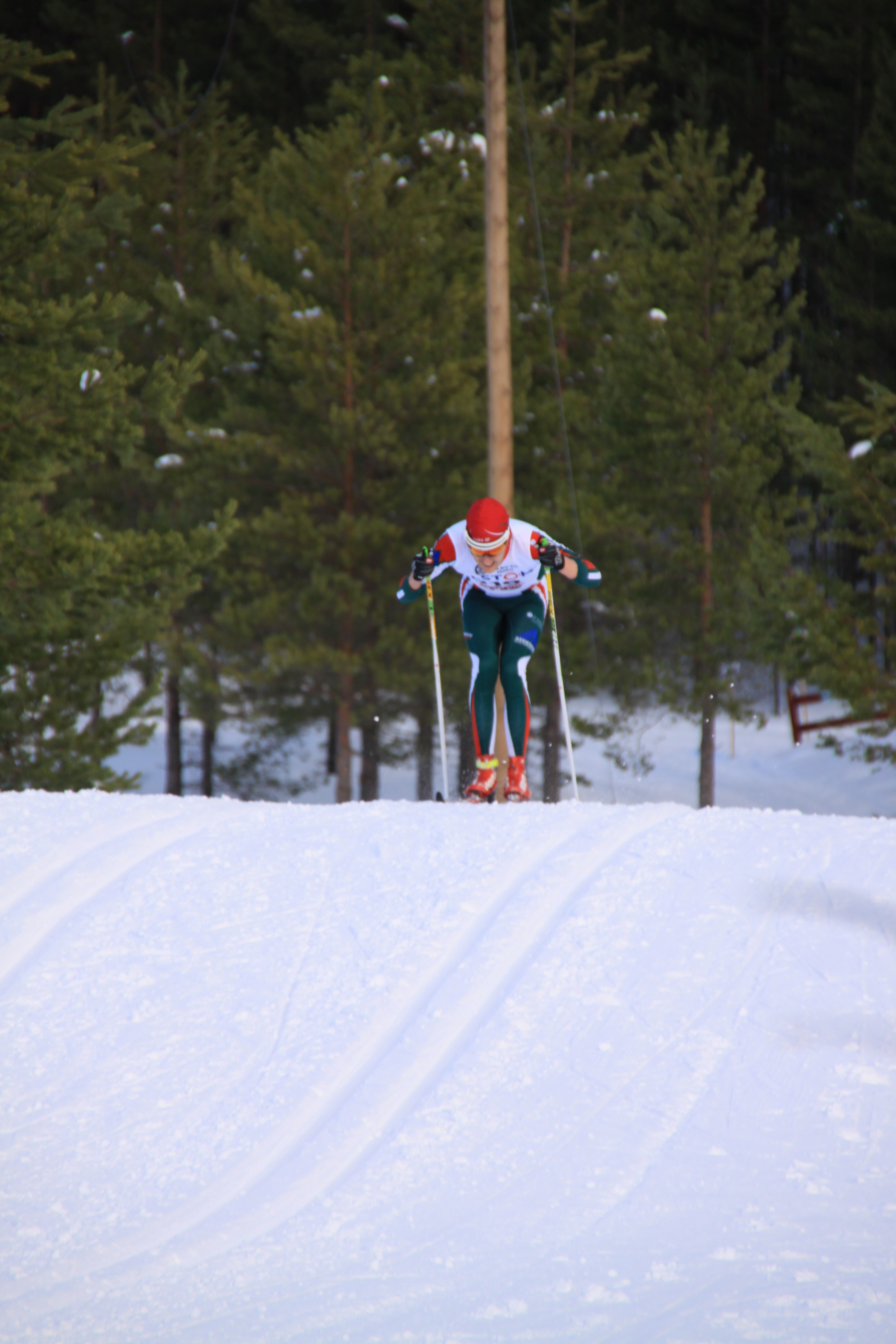 På väg in mot mål (Foto: Minna Sunesson)