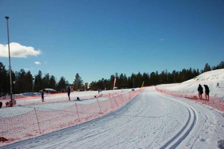 Det var fina banor och mycket snö i Orsa Grönklitt.