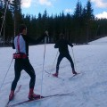 Eftermiddagens pass i Romme Alpin