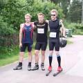 Pallen Hagforsyrans Klassiker rullskidor Emil Folkesson, Andreas Blohm, Måns Sunesson