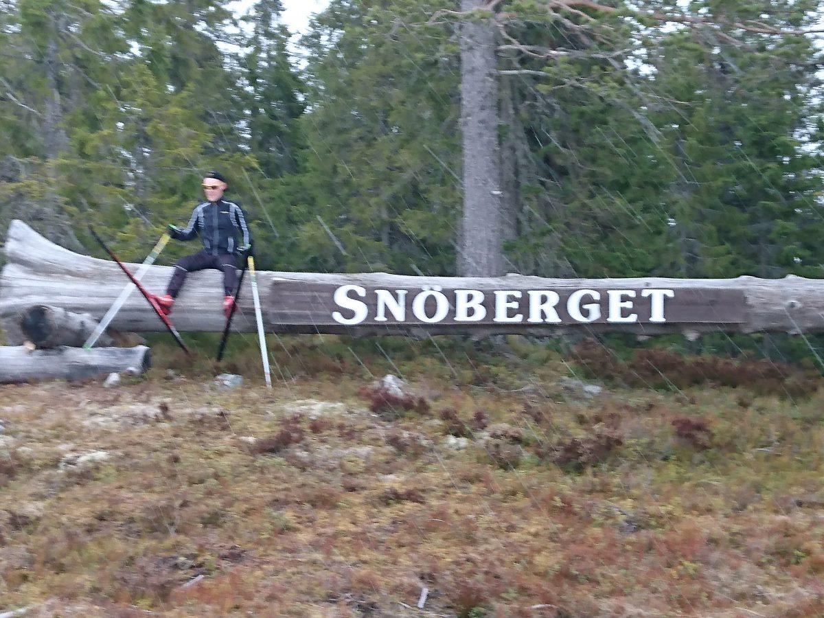 Uppe på Snöberget