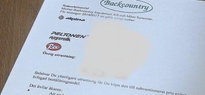 Backcountry kontrakt 16-17.2