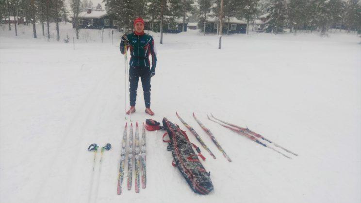 Träningsdag Orsa Grönklitt Oskar Lundqvist