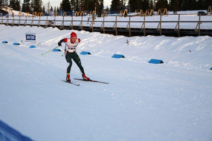 sprint på Idre Fjäll 2