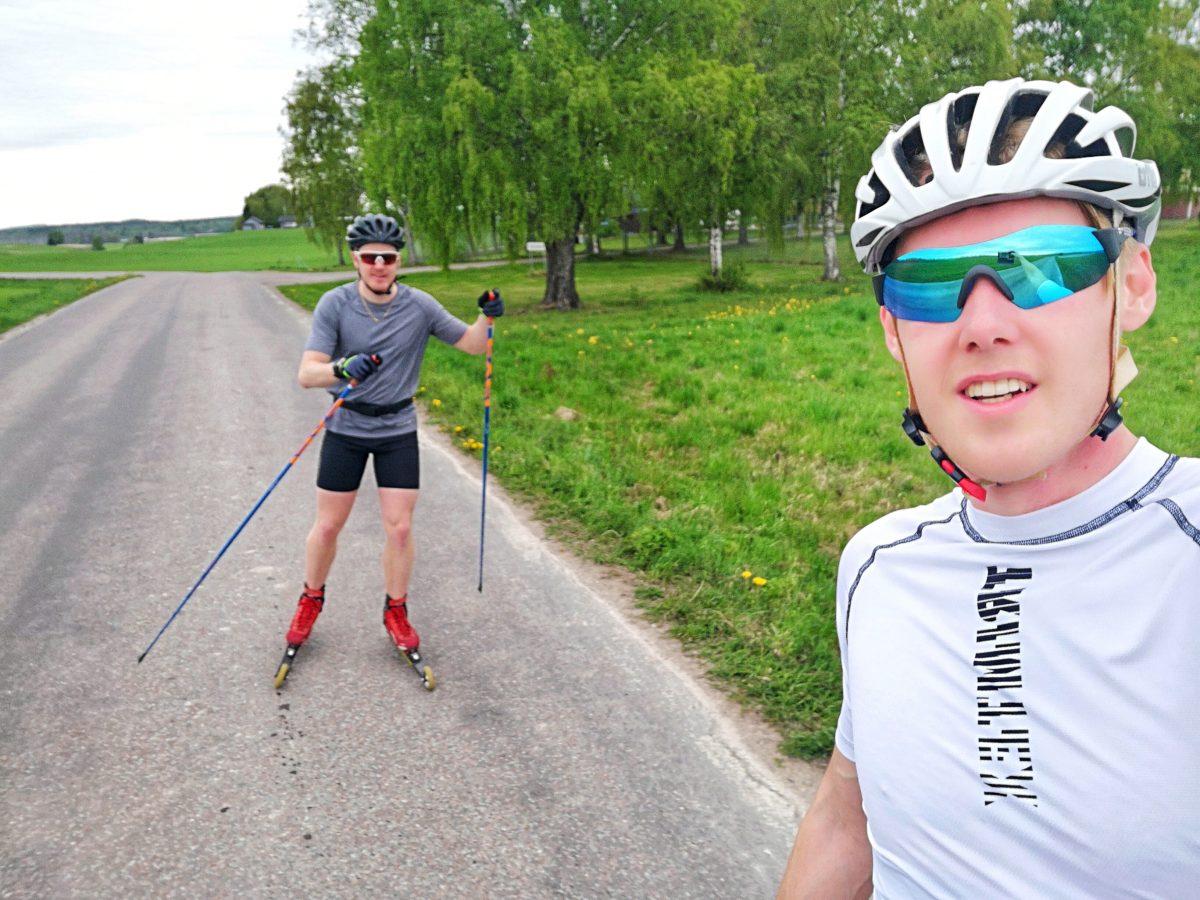 Rullskidor skejt Adam Larsson, Måns Sunesson