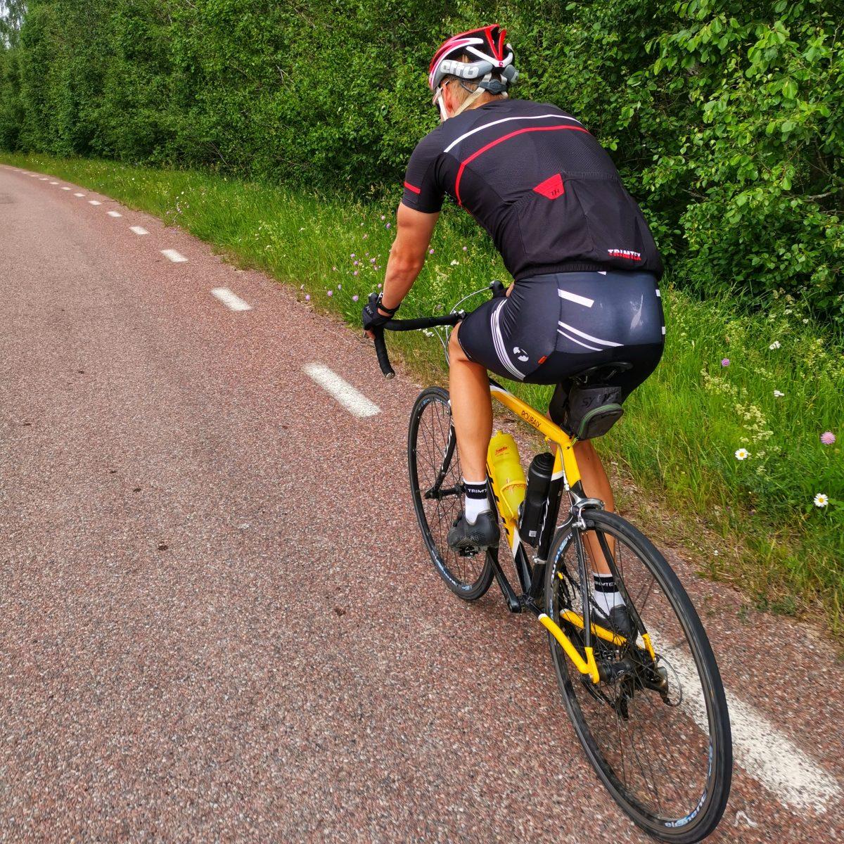Cykel längdskidåkning