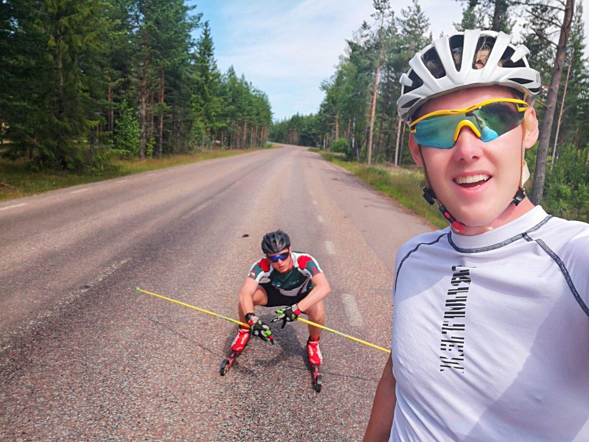 Rullskidor Gustafs. Oskar Lundqvist