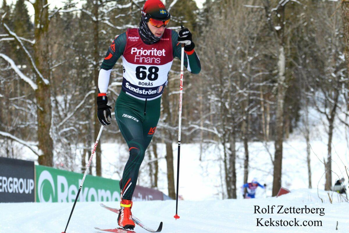 Skid-SM sprint Måns Sunesson